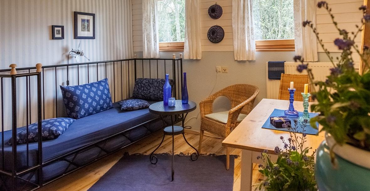 Wohnraum einer Ferienwohnung im Grashöfle