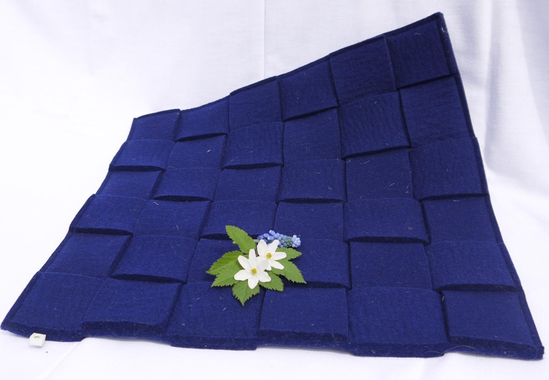 Sitzauflage blau